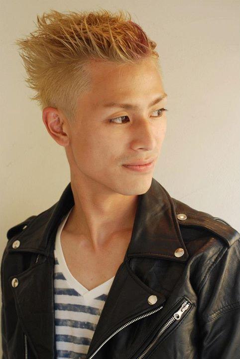【UK・ネオリーゼント☆】「メンズヘアカタログ'13」掲載スタイルです。